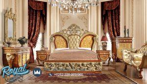 Model Set Kamar Tidur Klasik Ukiran Jepara Castello Bedroom