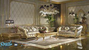 Set Sofa Kursi Tamu Mewah Klasik Ukir Mebel Jepara