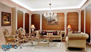Sofa Tamu Mewah Ukir Classic Mebel Jepara Manchaster