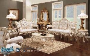 Kursi Sofa Tamu Mewah Ukiran Jepara Klasik Victorian Style