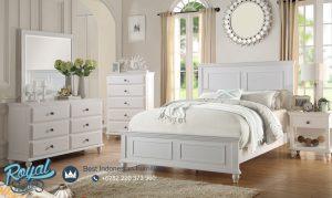 Set Kamar Tidur Minimalis Terbaru Putih Duco Arezo