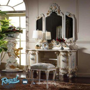 Model Meja Rias Ukir Klasik Mewah Palace