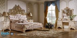 Set Kamar Tidur Mewah Modern Ukiran Jepara Terbaru Imperial