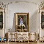Model Bufet Tv Mewah Ukiran Klasik Jepara Imperial Terbaru,