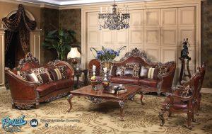Set Sofa Tamu Mewah Klasik Ukiran Jepara Terbaru Raphaels