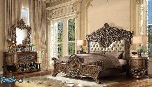 Bedroom Kamar Tidur Set Klasik Mewah Ukir Jepara Eropa Style Armoire