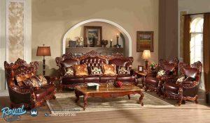 Sofa Tamu Jati Ukir Jepara Mewah Klasik Eropa Antique