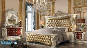 Kamar Tidur Set Mewah Klasik Ukir Jepara Terbaru Aladine