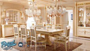 Meja Makan Klasik Modern Royal Italian