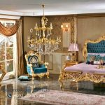 Bedroom Luxury Classic Gold Ukiran Jepara