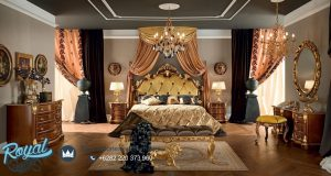 Bedroom Set Luxury Classic Kayu Jati Ukir Jepara Bella Vita
