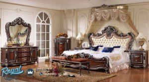 Tempat Tidur Ukiran Jepara Mewah Eropa