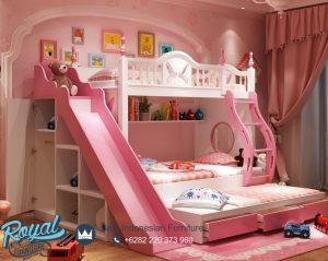 Dipan Anak Tingkat Anak Perempuan Pink Multifungsi