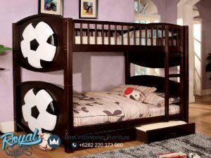Kamar Tidur Anak Susun 2 Jati Karakter Bola