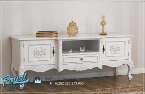 Meja Tv Putih Antique Guarracino