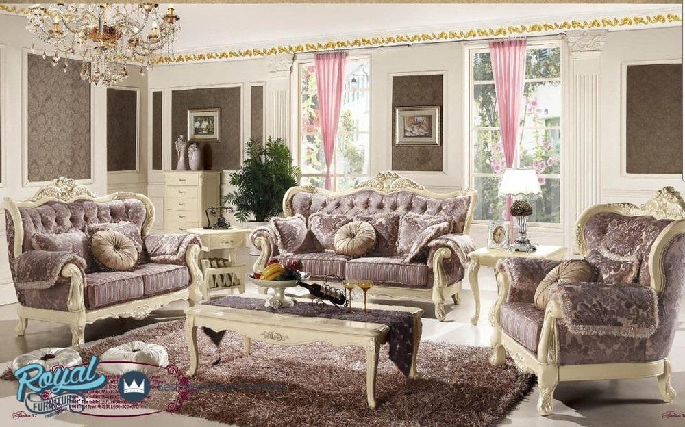 Set Sofa Ruang Tamu Eropa Klasik Mewah Terbaru