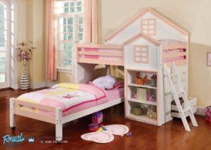Tempat Tidur Anak Model Rumah Terbaru Dollhouse