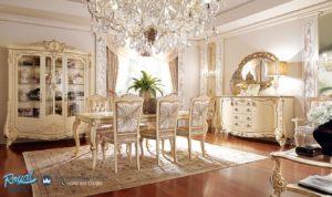 Set Meja Makan Klasik Model Eropa Mewah Terbaru Gostinye