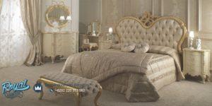 Set Kamar Tidur Ukiran Klasik Model Italia Mewah Terbaru Rodriguez