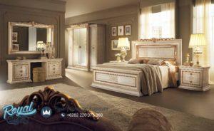 Tempat Tidur Klasik Modern Model Eropa Mewah Terbaru Spalni