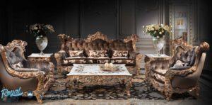 Sofa Tamu Ukir Klasik Mewah ROYAL Jumbo Terbaru