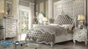 Set Kamar Tidur Mewah Ukiran Jepara Versailles Vintage Terbaru