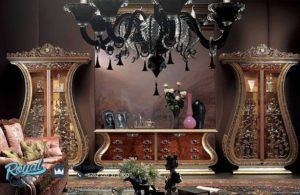 Bufet Tv dan Almari Hias Mewah Klasik Eropan Terbaru