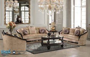 Kursi Sofa Ruang Tamu Kayu Jati Ukir Klasik Monaliza Jepara Terbaru