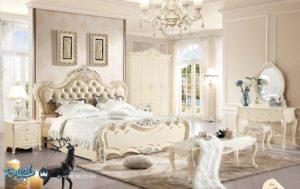 Tempat Tidur Mewah Putih Duco Modern Model Terbaru
