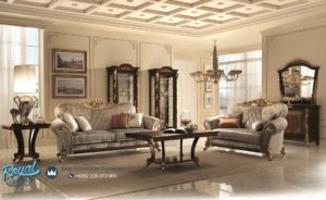 Set Sofa Ruang Tamu Mewah Arredo Classic Furniture Ukir Jepara Terbaru