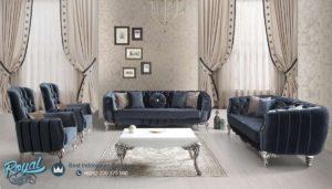 Set Sofa Ruang Tamu Silver Gliss Classic Mewah Ukir Mebel Jepara Terbaru