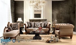 Set Sofa Tamu Mewah Kayu Jati Style Luxury Klasik Terbaru