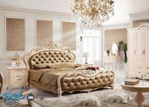 Set Tempat Tidur Mewah Modern Luxury Kayu Mebel Jepara Murah Terbaru