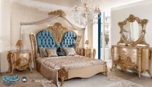 Bedroom Set Tempat Tidur Mewah Klasik Gold Analiz Mebel Jepara Terbaru