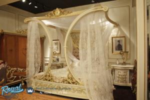 Set Kamar Tidur Mewah Pengantin Rafless Kanopi Ukir Jepara