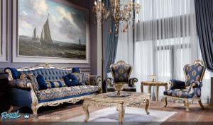 Set Sofa Tamu Mewah Ukir Klasik Jepara Turkis Furniture Terbaru