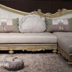 Sofa Tamu Mewah Sudut L Ukiran Klasik Terbaru Baroque, Kursi sudut sofa, harga sofa sudut, kursi tamu sudut murah, kursi tamu sudut L minimalis modern,
