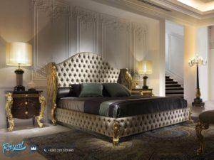 Tempat Tidur Klasik Mewah Terbaru Golden