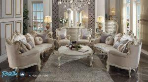 Set Sofa Tamu Mewah Terbaru Italian Style Furniture Jepara