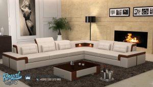 Sofa Tamu Minimais Leter L Terbaru New Living Room Furniture