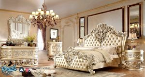 Bedroom Set Kamar Tidur Mewah Klasik Eropa Luxury Terbaru