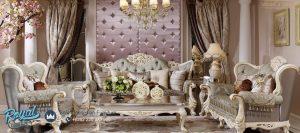Kursi Sofa Tamu Mewah Modern Ukir Jepara Italian Style