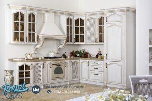 Kitchen Set Kayu Ukiran Jepara Mewah Modern Terbaru