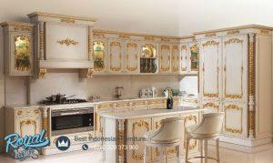 Kitchen Set Ukiran Klasik Kayu Jepara Eropa Style