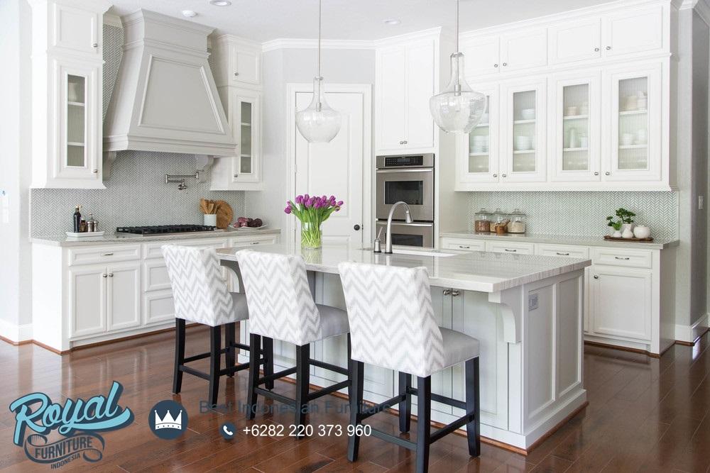 Model Kitchen Set Minimalis Kayu Mahoni Putih Duco Terbaru ...