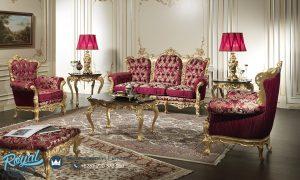 Set Kursi Sofa Tamu Mewah Ukir Jepara Baroque