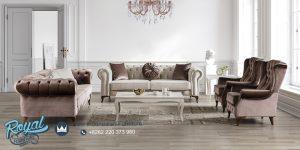 Model Sofa Tamu Minimalis Jepara Terbaru Retro