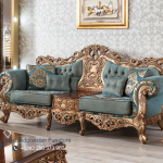 Set Sofa Ruang Tamu Klasik Mewah Ukir Jepara Classiques