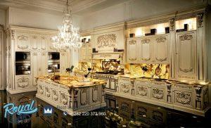 Kitchen Set Kayu Ukiran Klasik Jepara Model Terbaru