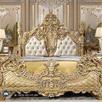 Set Kamar Tidur Klasik Mewah Gold Duco Ukiran Jepara Eropan Style